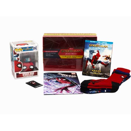Spider-man: Homecoming (Limited Edition Gift Box) (Walmart Exclusive) (Blu-ray +