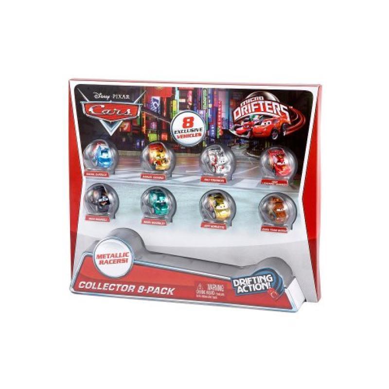 Mattel Disney/Pixar Cars Micro Drifters Collector, 8-Pack