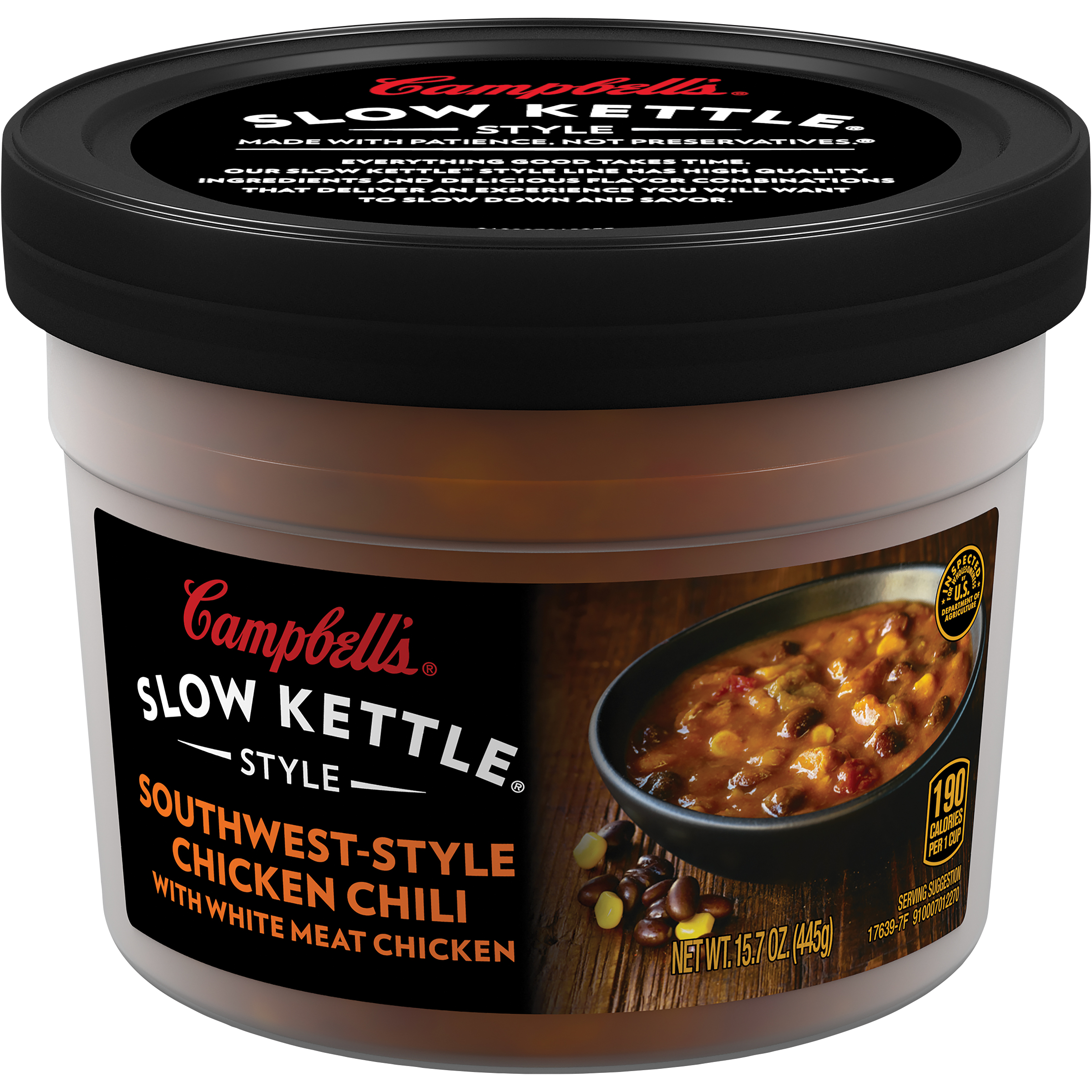 Campbell's Slow Kettle Style Southwest-Style Chicken Chili 15.7oz