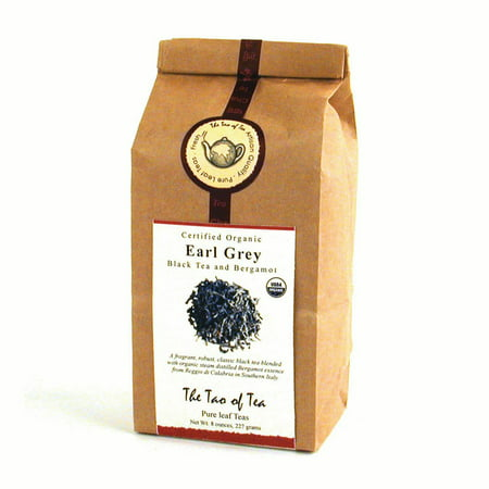 The Tao of Tea, Organic Earl Grey Tea, Loose Leaf Tea, 8 Oz Tin Tie (Organic Loose Tea)