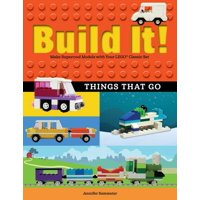 Brick Books: Build It! Things That Go: Make Supercool Models with Your Favorite Lego(r) Parts (Paperback)
