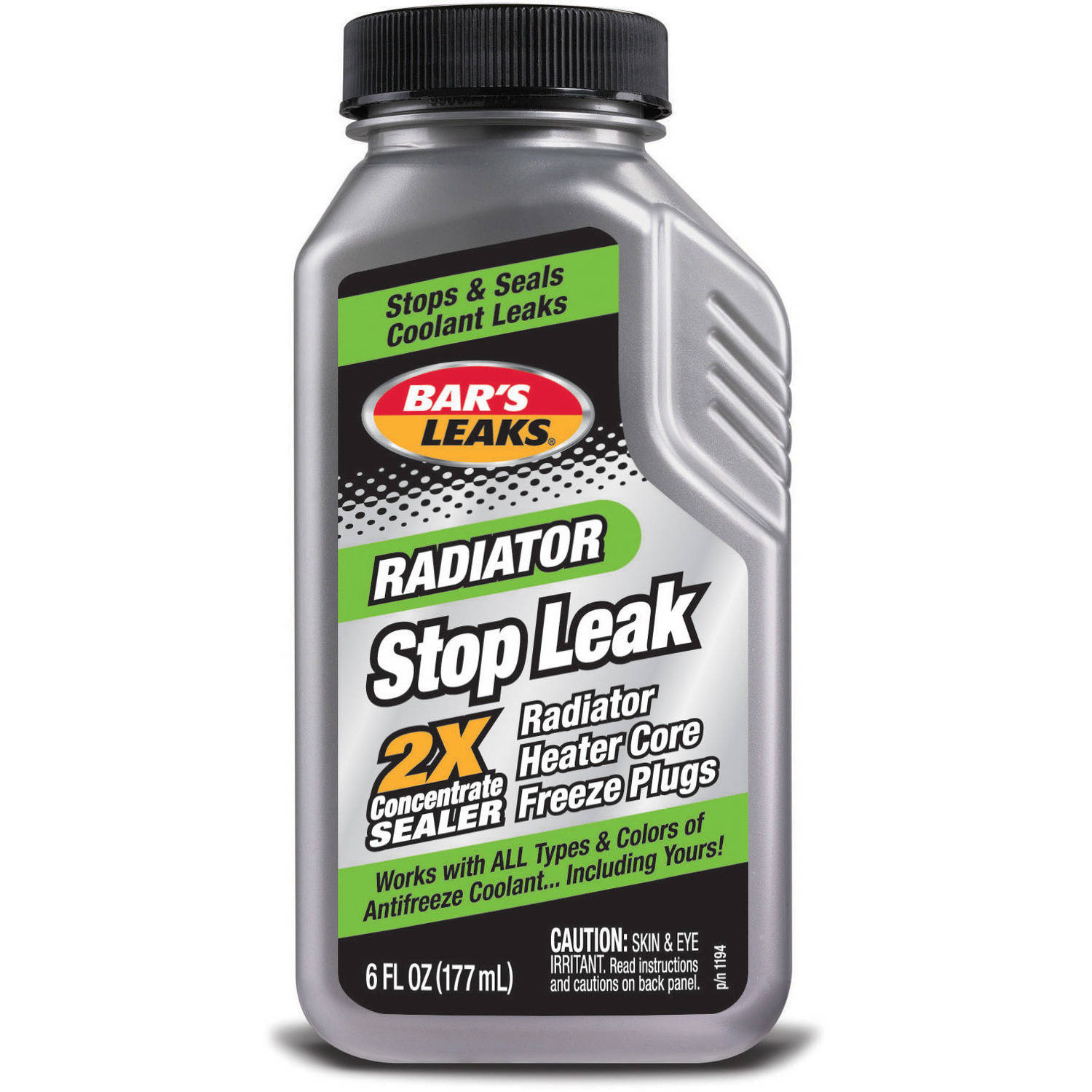 Bar's Leaks 1194 Grey Radiator Stop Leak 6 oz. by Bar%27s Products
