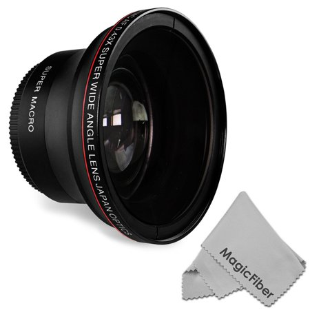 58MM 0.43x Altura Photo Professional HD Wide Angle Lens w/ Macro Portion for Canon EOS Rebel Camera DSLR (T6s T6i T5i T5 T4i T3i T3 SL1 1100D 700D 650D 600D 550D 300D 100D 60D 7D 5D 70D)