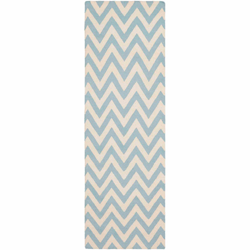 Safavieh Dhurrie Bentley Chevron Zigzag Area Rug or Runner