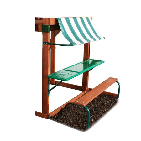 Swing Type Wall Mount (Swing-N-Slide PB 8268 Discovery Table with Bench, Awning & Mounting Hardware, Green)