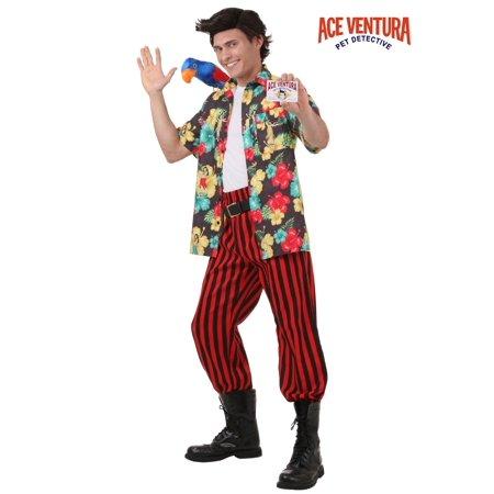 Ace Ventura Costume with Wig - Ace Ventura Costume