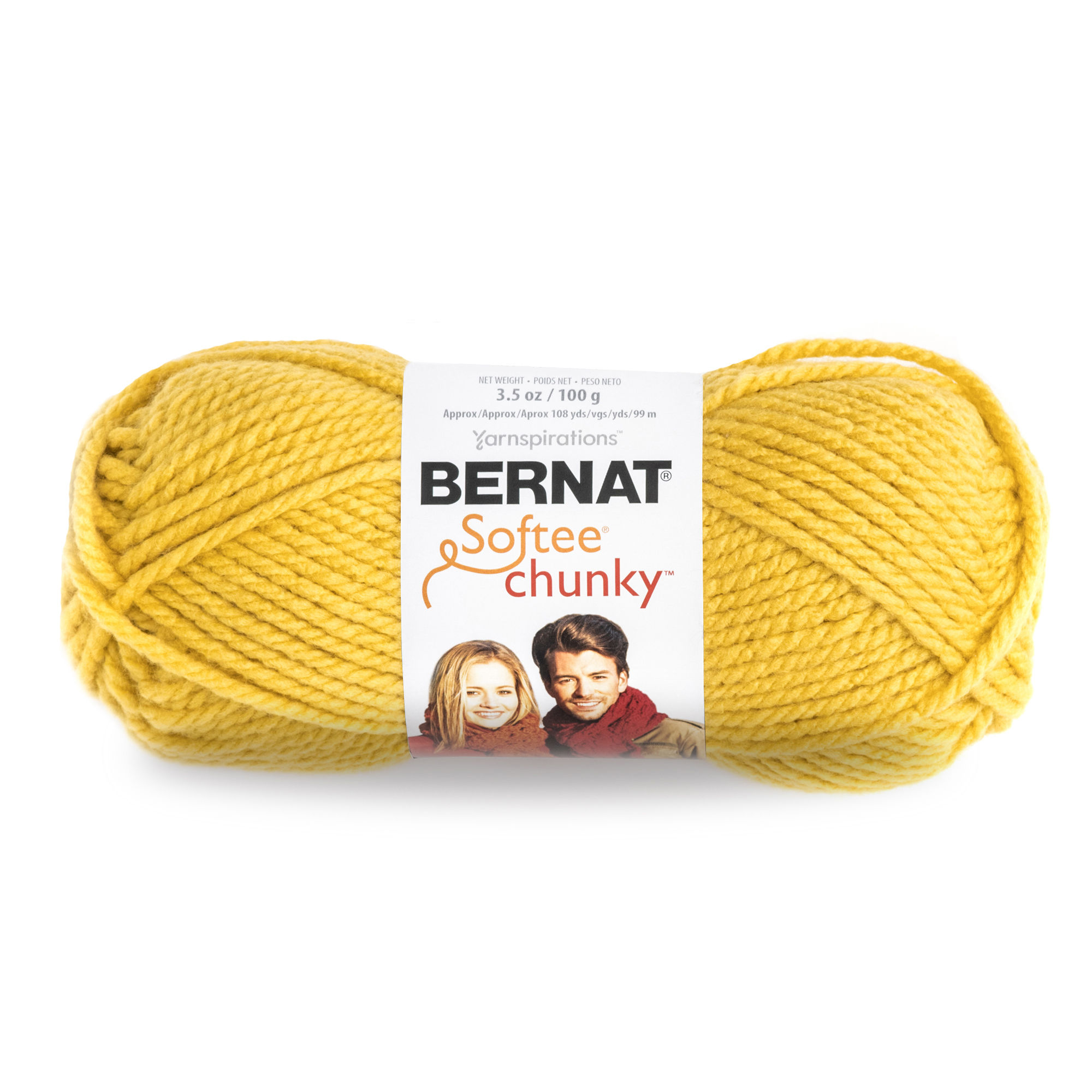 Bernat Acrylic Softee Chunky Redwood Yarn, 1 Each