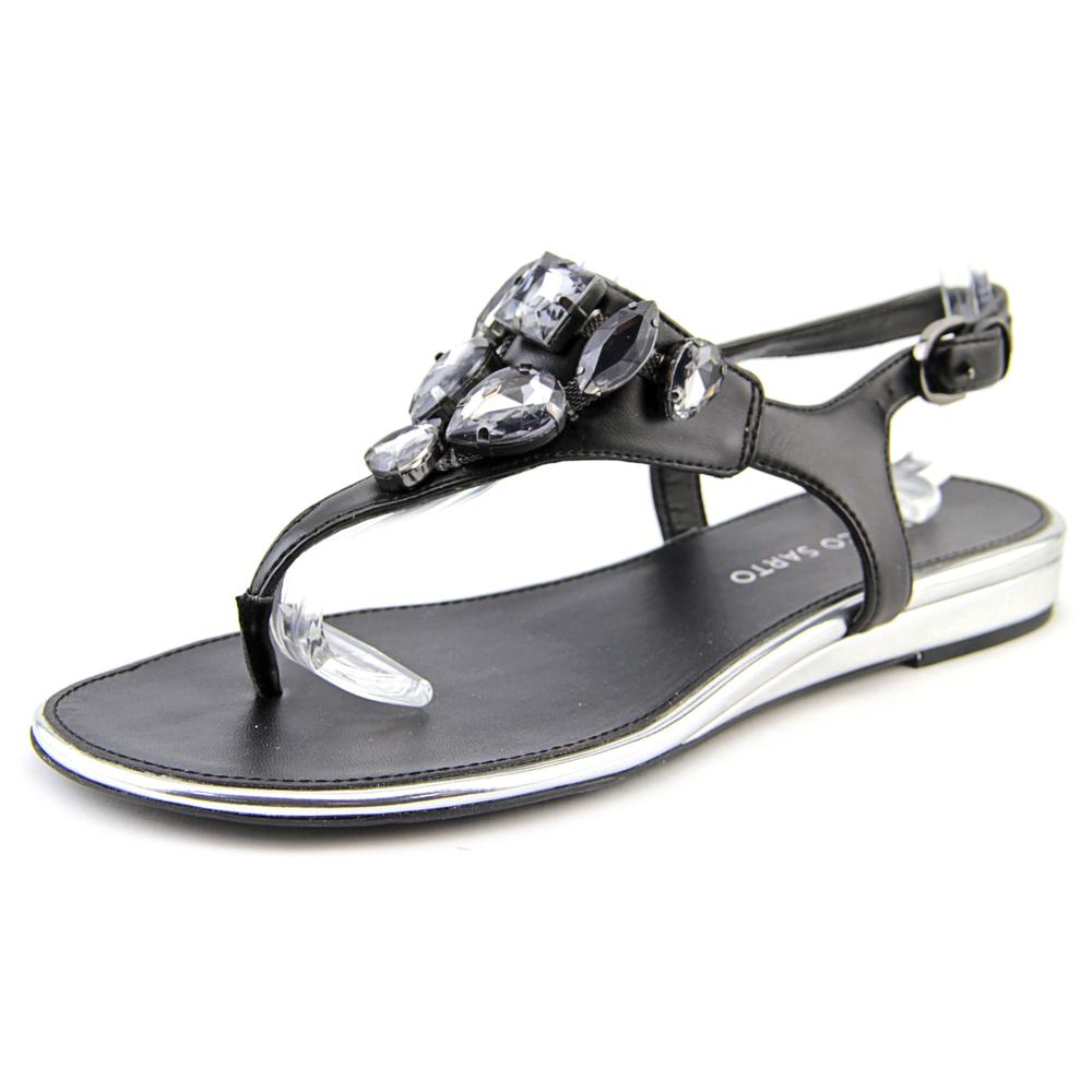 Franco Sarto Galileo Open Toe Synthetic Thong Sandal by Franco Sarto