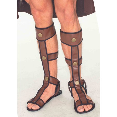 Mens Gladiator Sandals Halloween Costume Accessory for $<!---->