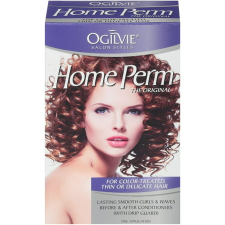 Ogilvie Home Perm The Original For Color-Treated, Thin Or Delicate Hair 1 (Best Products For Permed Hair)