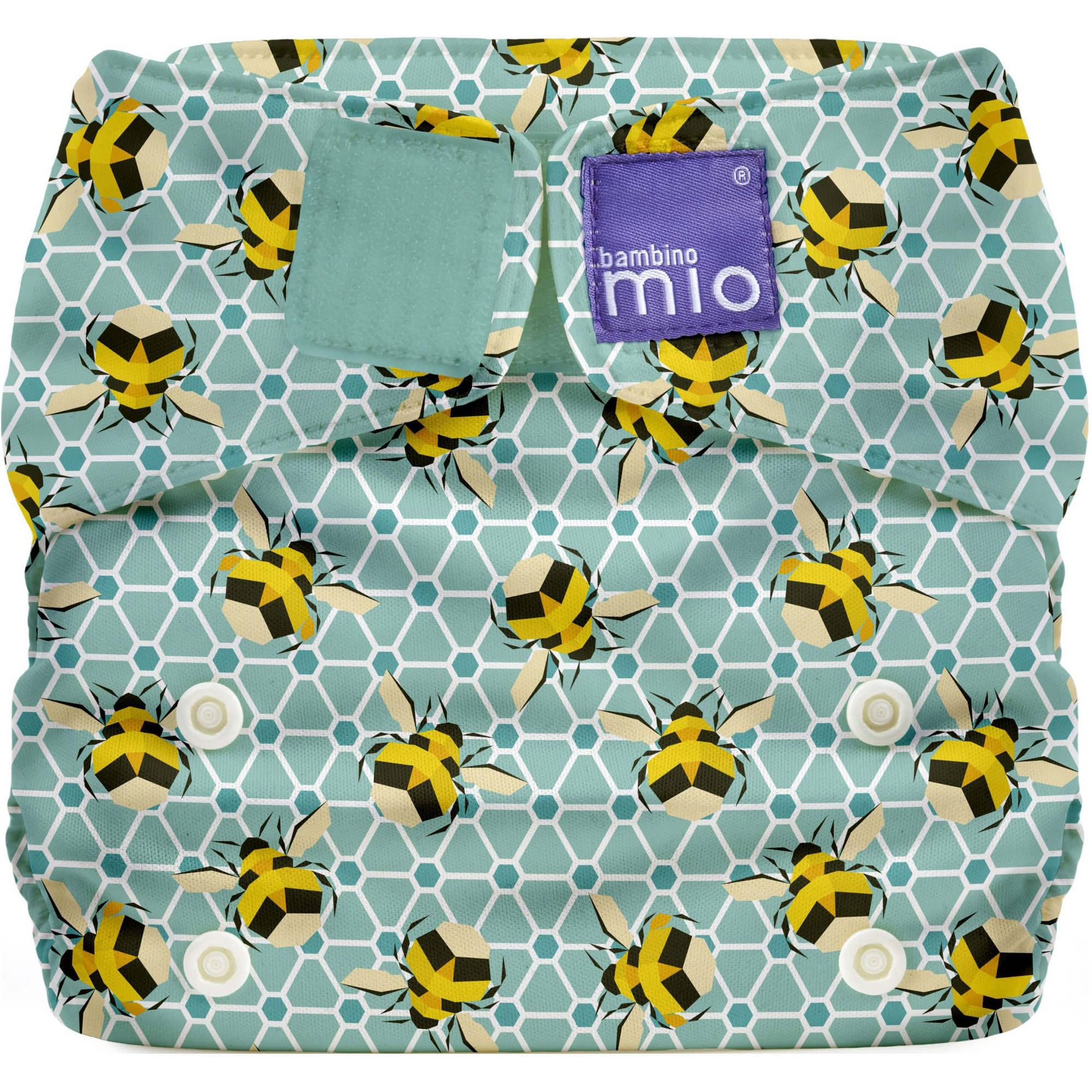 Bambino Mio Miosolo All-in-One Diaper, (Choose Your Pattern)