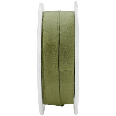 (May Arts Solid Wrinkled Ribbon 1/2