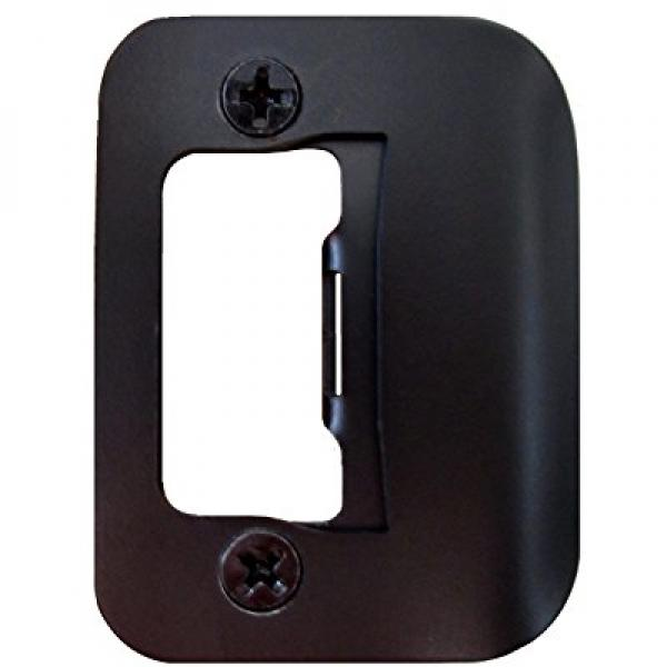 GATOR Door Latch Restorer   Strike Plate (Oil Rubbed Bronze)