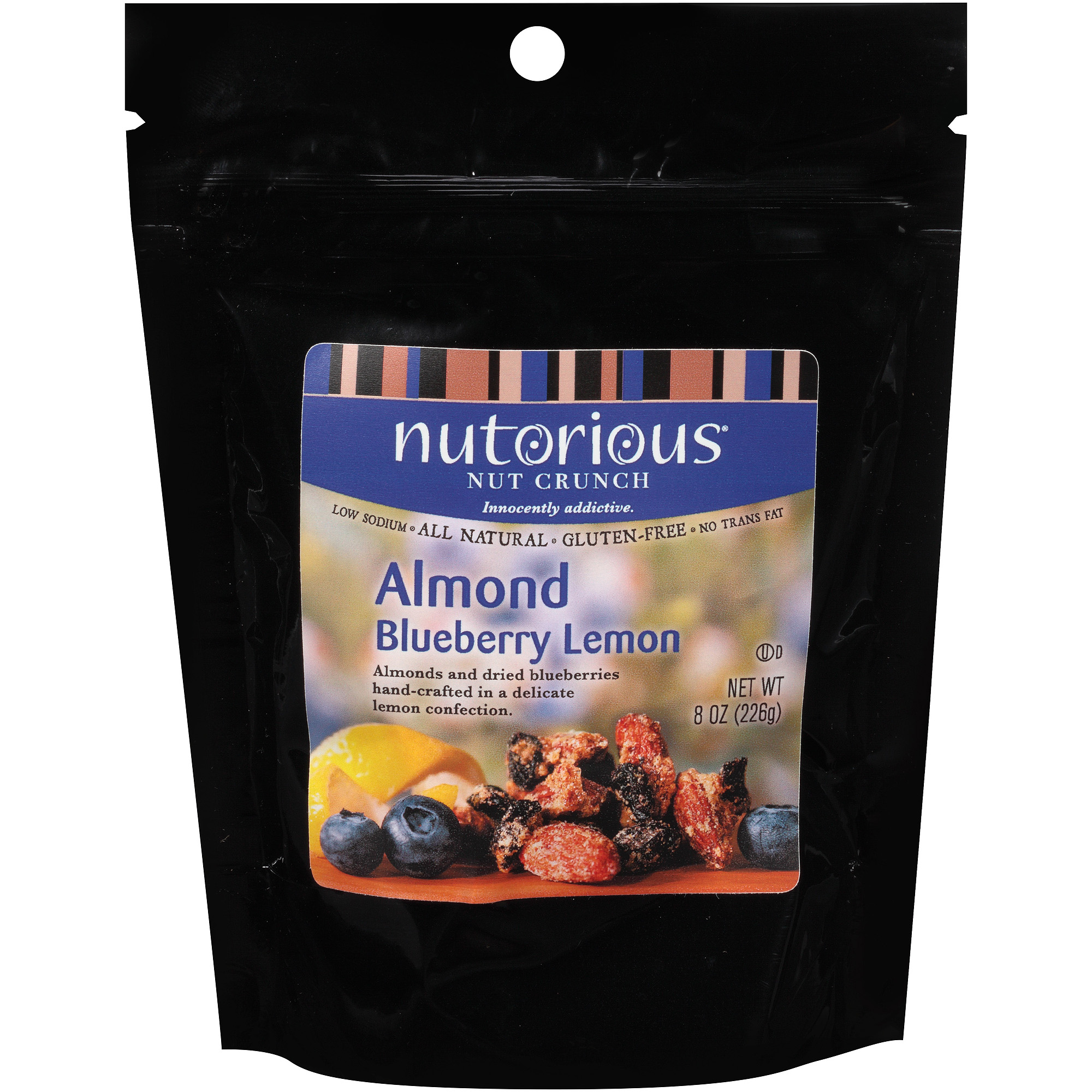 Nutorious Almond Blueberry Lemon Nut Crunch, 8 oz