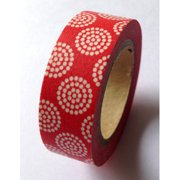 Love My Tapes Washi Tape 15mmX10m-Red Dandelion
