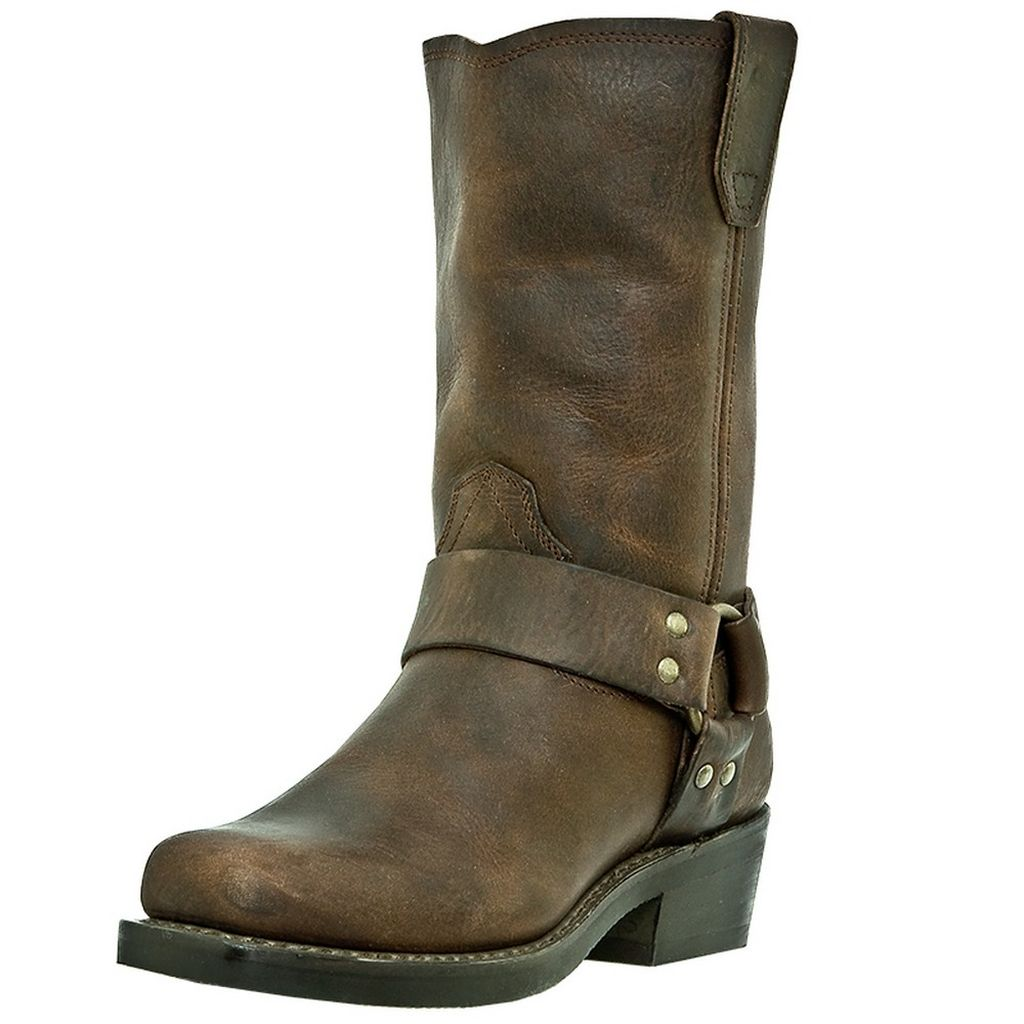 Dingo Motorcycle Boots Womens Molly Harness Gaucho Nutty Mule DI7374 by Dingo