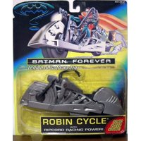 Batman Forever Movie Robin Cycle with Ripcord Action Figure Vehicle by Kenner