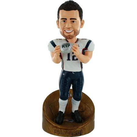 New England Patriots Tom Brady Super Bowl 51 Champions MVP Bobblehead