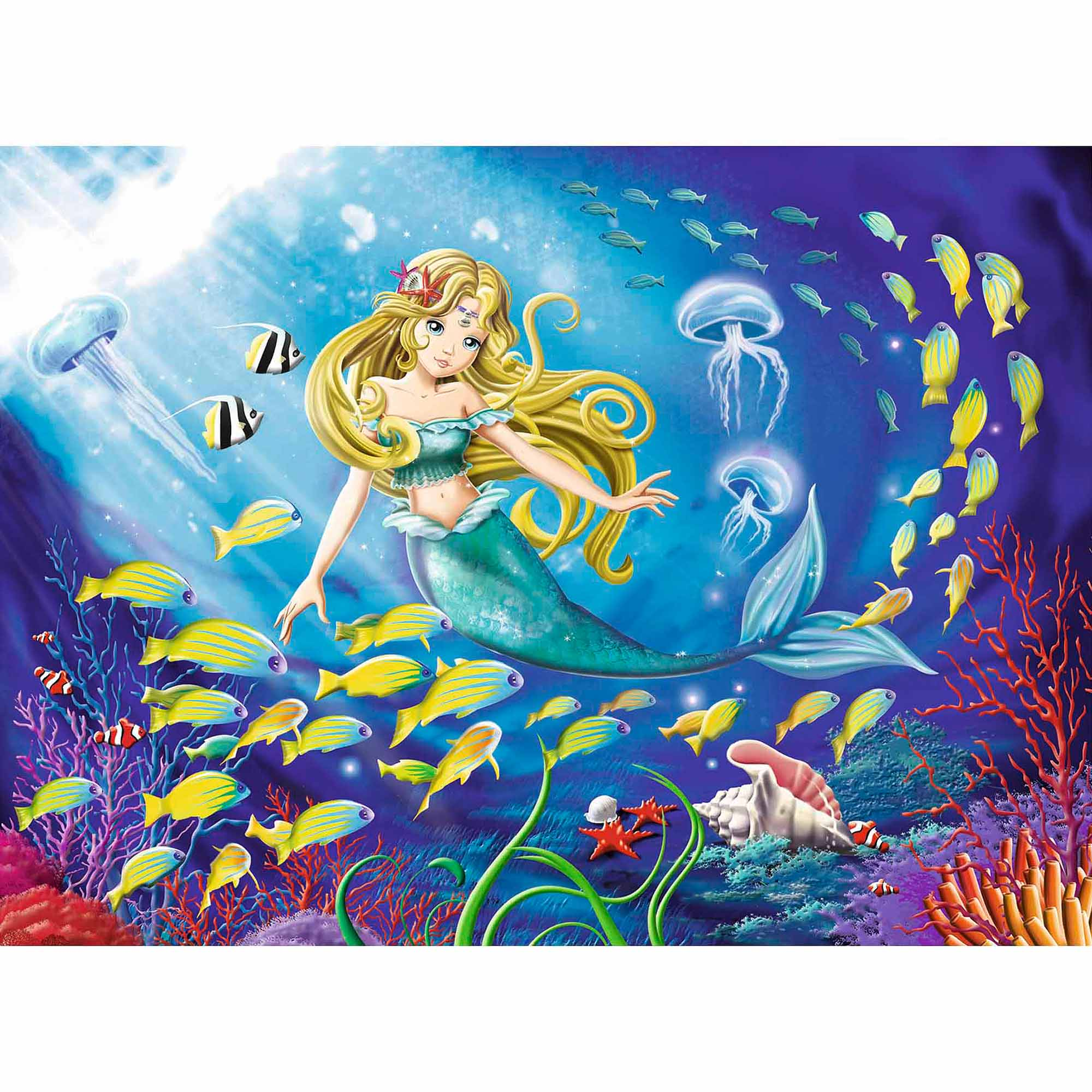 Little Mermaid Puzzle, 100 Pieces