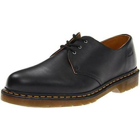 Dr Martens Sizing (Dr. Martens DR11838001 4 Men's 1461 3 Eye Shoe,Black Nappa Size)