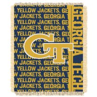 "GA Tech Yellow Jackets The Northwest Company College Double Play 46"" x 60"" Woven Blanket - No Size"