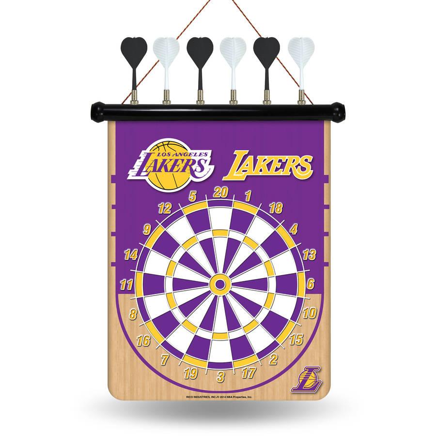 Rico NBA Magnetic Dart Set, Los Angeles Lakers