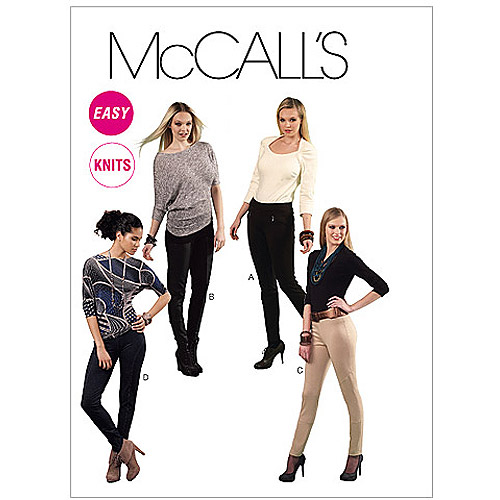 McCall's Pattern Misses' Leggings, Z (L, XL)
