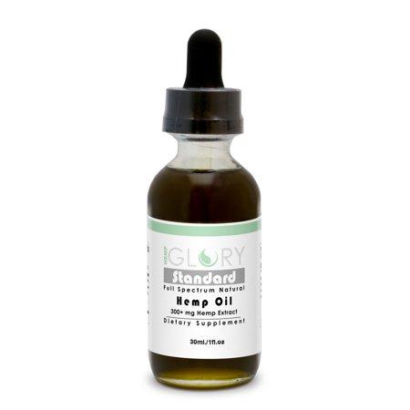 Standard Full Spectrum Natural Hemp Oil Extract 300  Mg 1Fl Oz