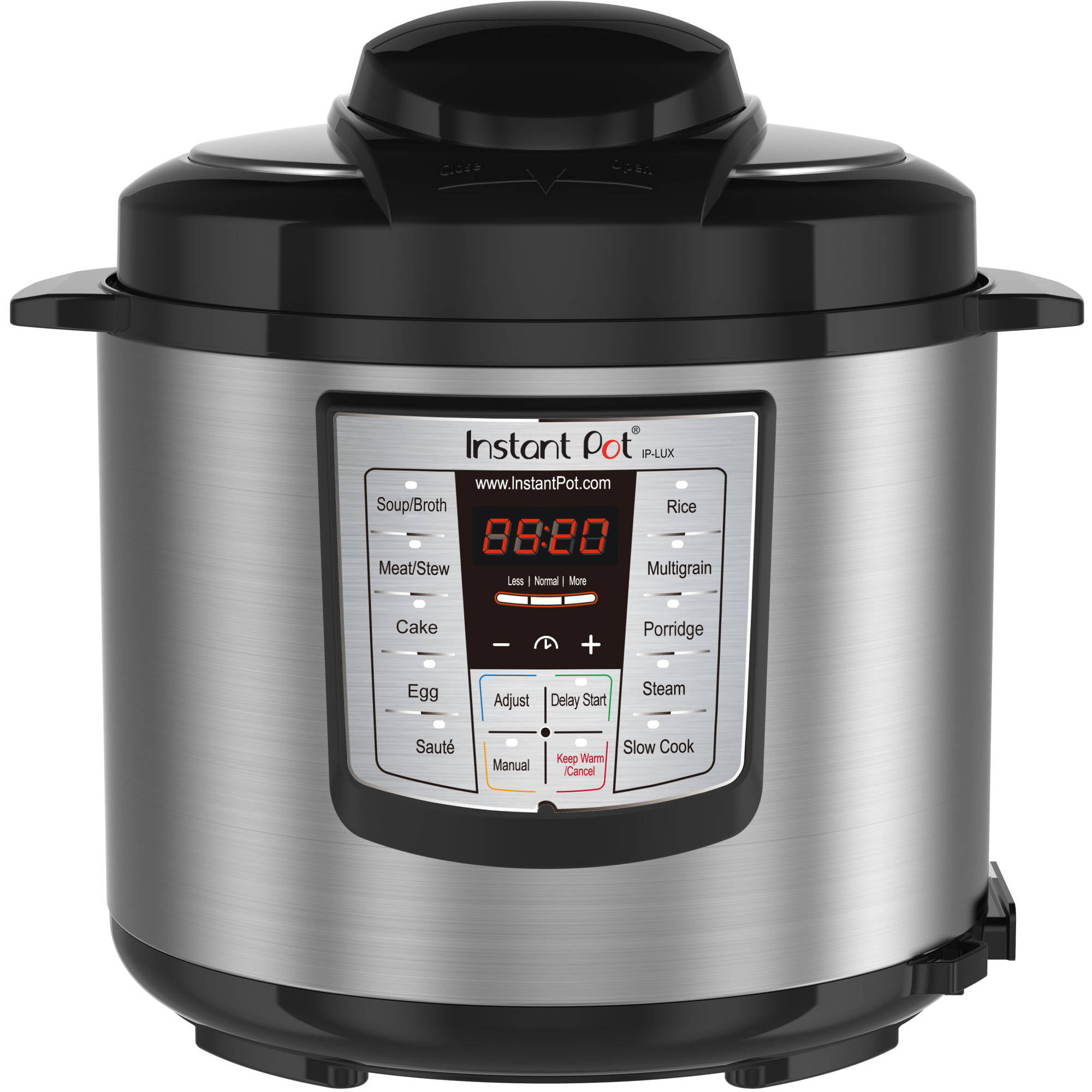 Instant Pot Lux60 V3 6-Qt 6-In-1 Multi-Functional Electric Pressure Cooker, Stainless Steel by Double Insight Inc.