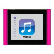 """Eclipse Fit Clip Plus 8GB 1.8"""" MP3 + Video Player, Pink"""