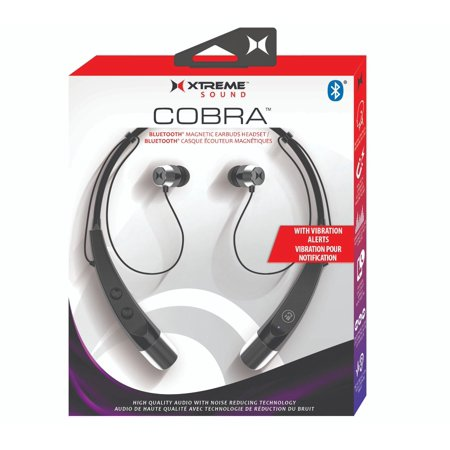 bdb11cc241d Xtreme Cobra Bluetooth Magnetic Earbud Headset Around The Neck - Walmart.com