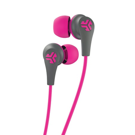JLab Audio JBuds Pro Bluetooth Earbuds - Pink / Gray