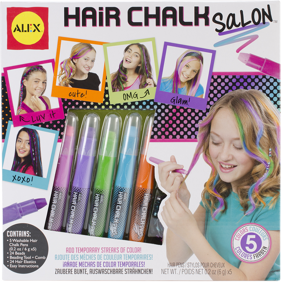 Hair Chalk Salon Kit- 738W
