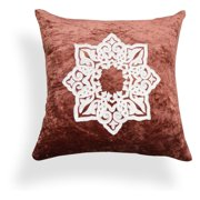 A1 Home Collections Mia Medallion Marsala Pillow