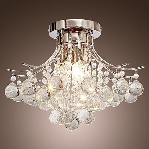Saint Mossi Chandelier Modern K9, Saint Mossi Chandelier Modern K9 Crystal Raindrop Light