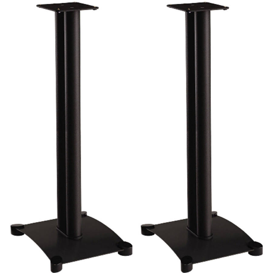 "SANUS SF34 34"" Stand for Small-to-Medium Bookshelf Speakers up to 25 Pounds"