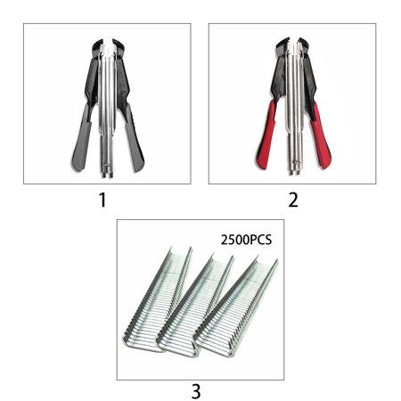 Mini Handheld Portable C-nail Supermarket Sealing Pliers Animal Husbandry Cage Binding Tool - image 5 de 6