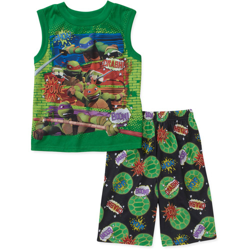 Teenage Mutant Ninja Turtles Boys' 2 Pie