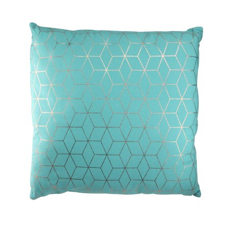 Blue Square Pillow - Northlight 17