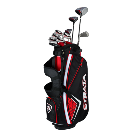 Callaway Men's Strata Plus '19 Complete 14-Piece Steel Golf Club Set with Bag, Right Handed (Golf Club Set Callaway)