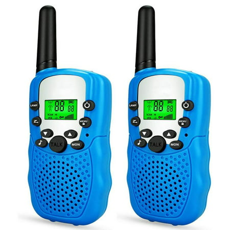 ZIOBLW Happy Gift Best Gifts for Kid, Walkie Talkies for Kid,Cool Toys for 4-5 Year Old Boys,2 Pack