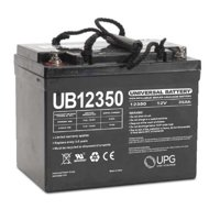 UPG UB12350 12V 35Ah I4 AGM U1 Battery for Mobility Wheelchairs Power Chair Scooters Pride Jazzy Select APC UPS Lawn Mower Garden Tractor Trolling Motor Rhino UTV