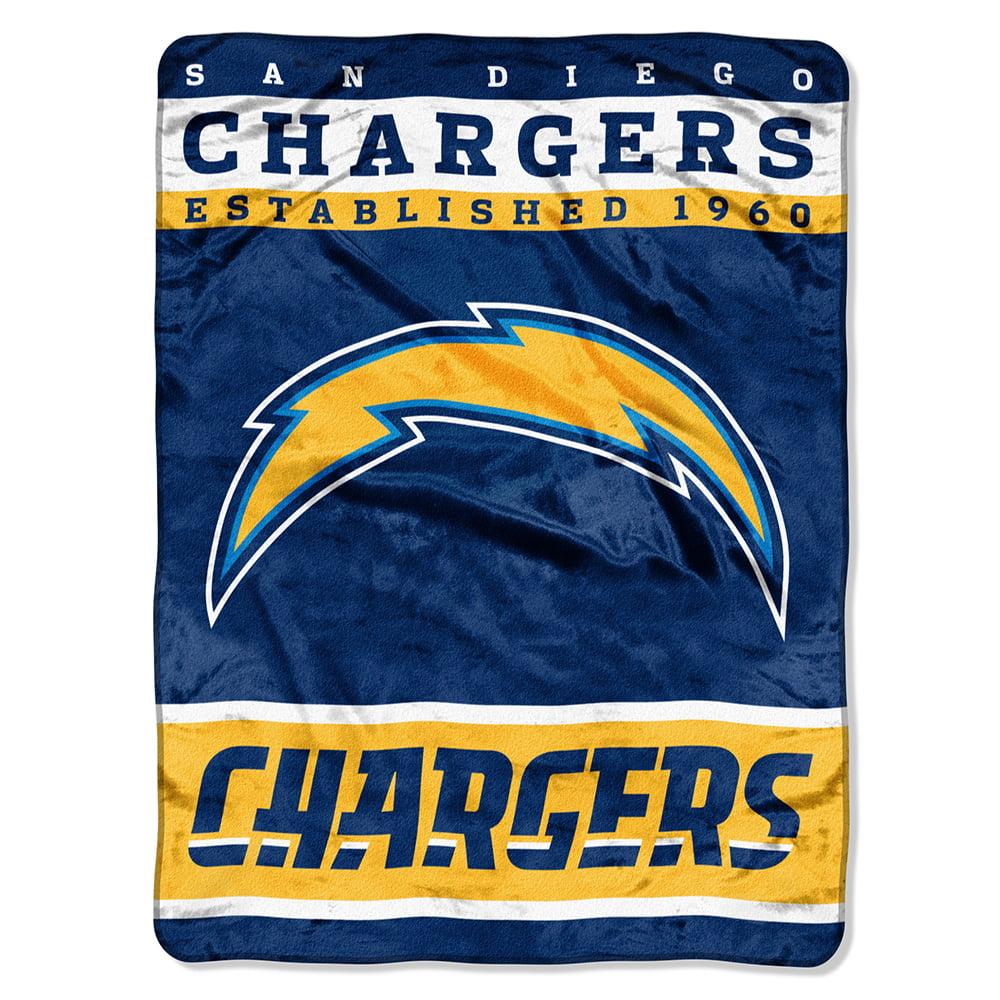 "San Diego Chargers 60""x80"" Royal Plush Raschel Throw Blanket"