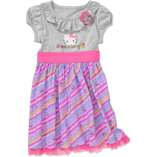 Baby Girls' Hello Kitty Tee Shirt Printed Dress