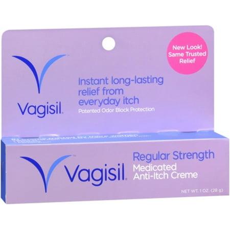 Vagisil Anti-Itch Creme Original Strength 1 oz (Pack of 2)