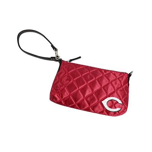 Little Earth DO NOT SET LIVE! MLB Cincinnati Reds Quilted Wristlet