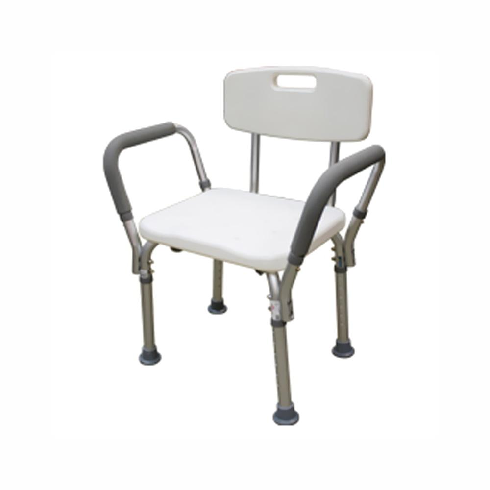 BTH-SCBH Adjustable Shower Chair White