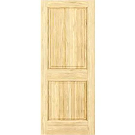 Kimberly Bay Paneled Solid Wood Unfinished Colonial Standard Door