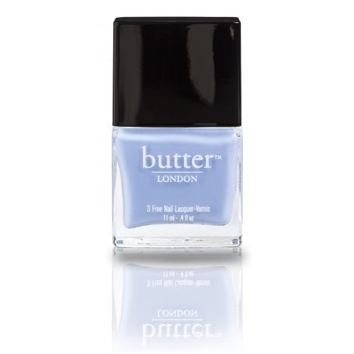 Butter London 3 Free Nail Polish , Sprog, A  periwinkle blue cream colour - Walmart.com