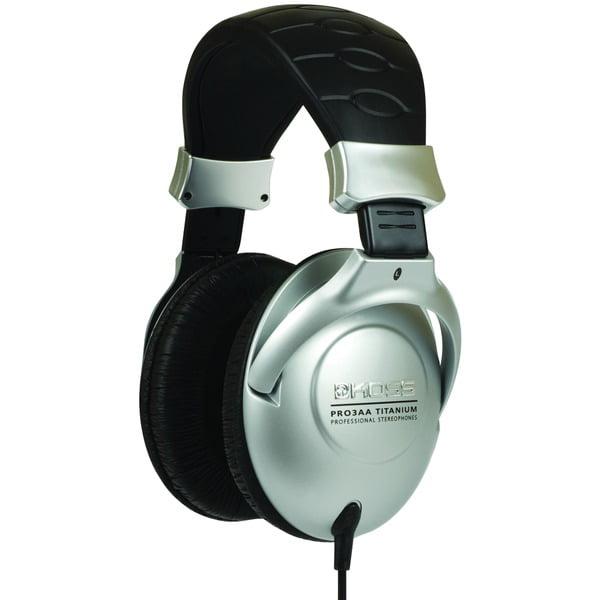 KOSS(R) 183252 Pro3AAT Titanium Over-Ear Full-Size Studio Headphones